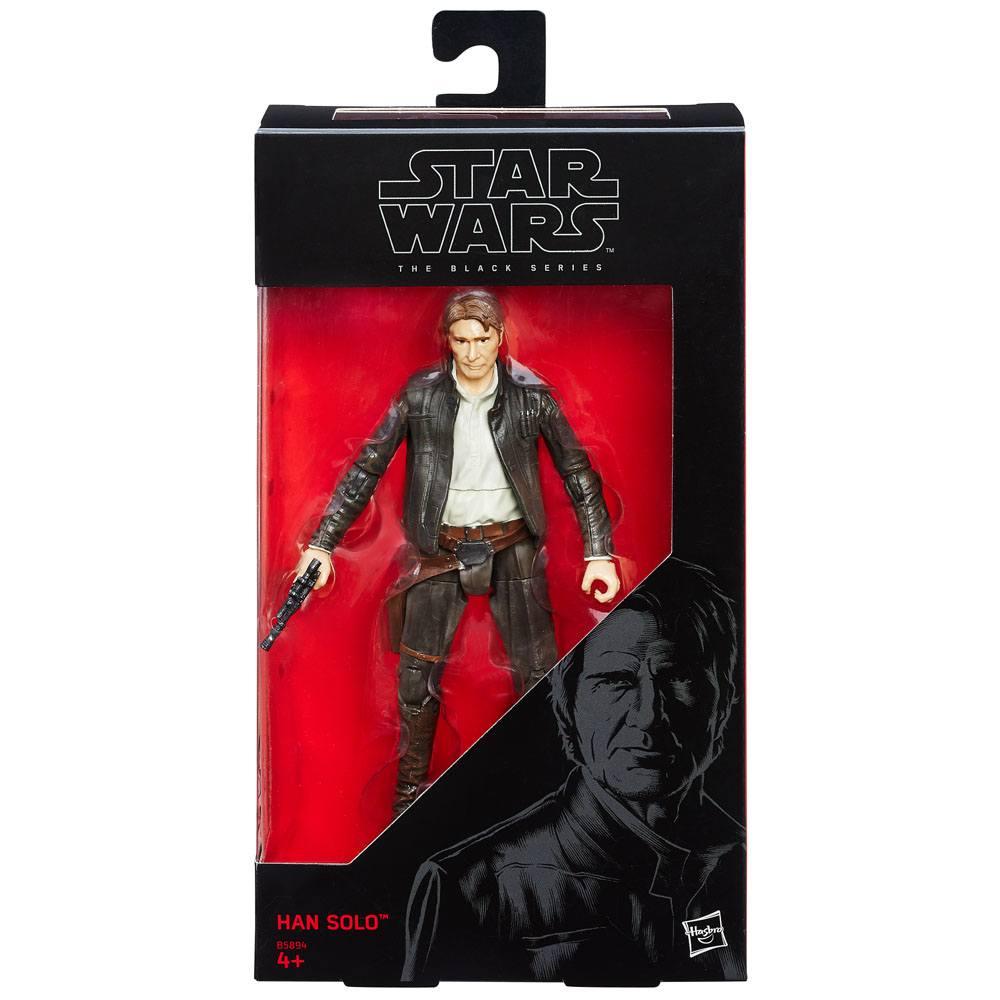 Star Wars Episode VII Black Series Action Figure Han Solo 15 cm