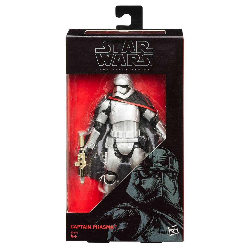 Star Wars Episode VII Black Series Action Figure Captain Phasma 15 cm