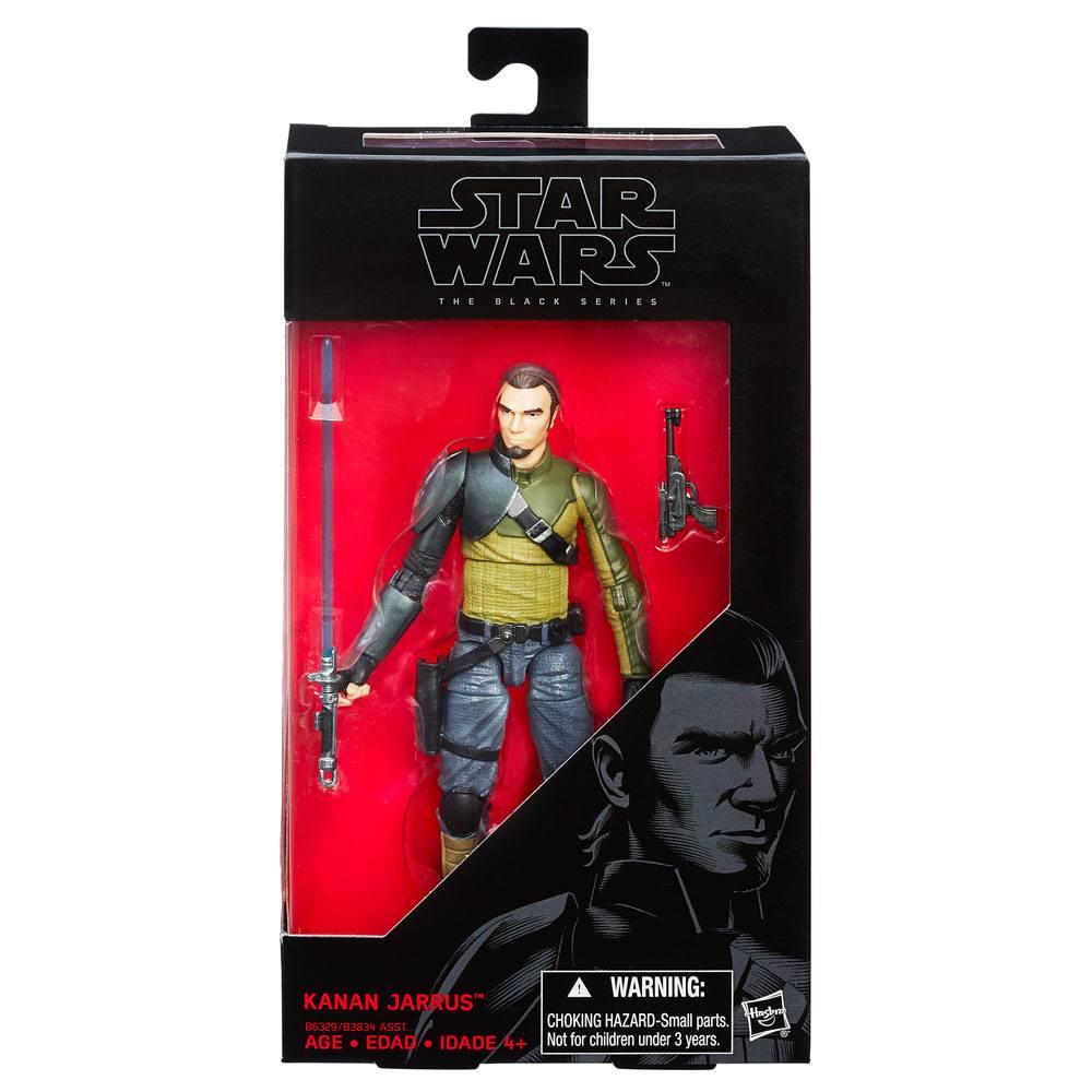 Star Wars Episode VII Black Series Action Figure Kanan Jarrus 15 cm