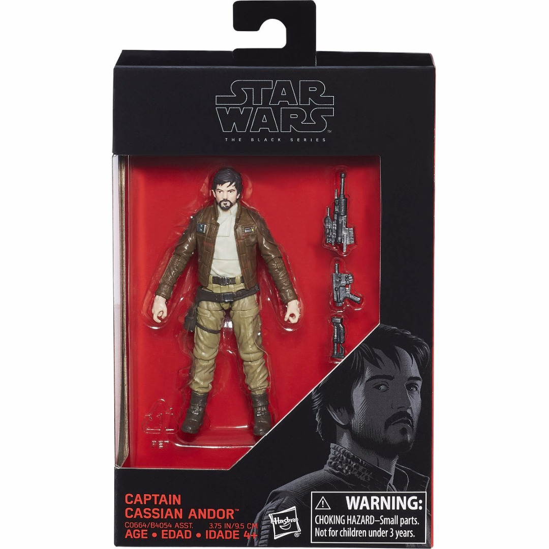 Star Wars Black Series Action Figure Captain Cassian Andor 10 cm