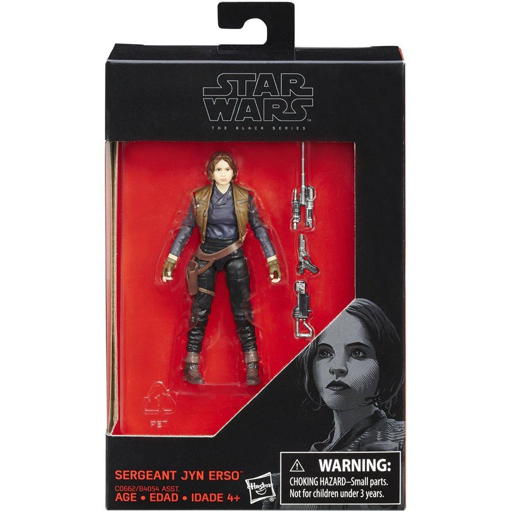 Star Wars Black Series Action Figure Sergeant Jyn Erso 10 cm