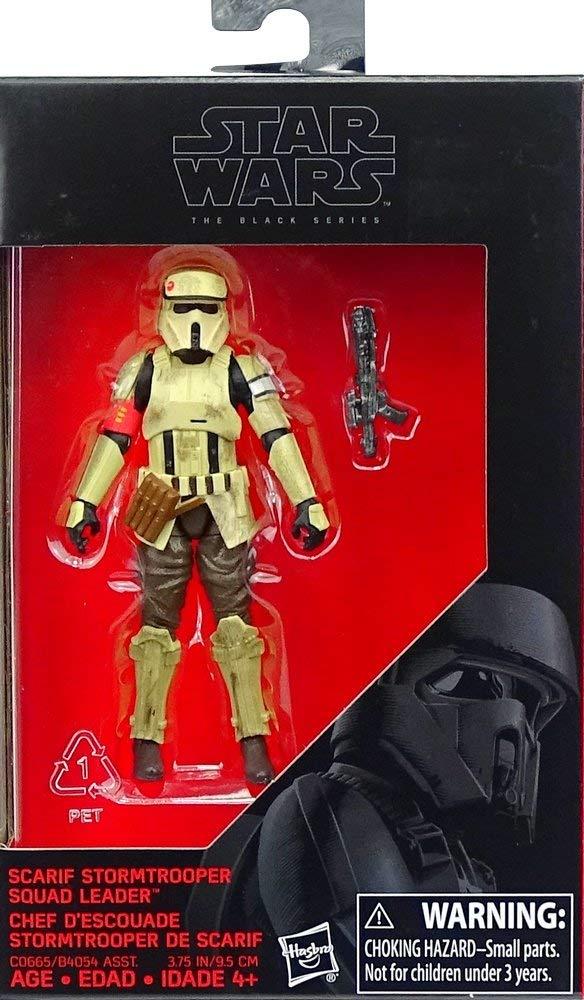 Star Wars Black Series Action Figure Scarif Stormtrooper Squad Leader 10 cm