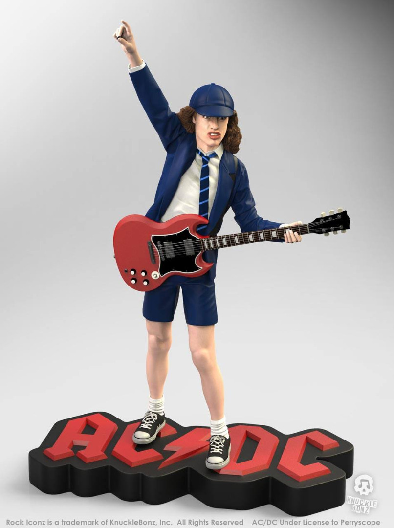 AC/DC Rock Iconz Statue 1/9 Angus Young II 21 cm