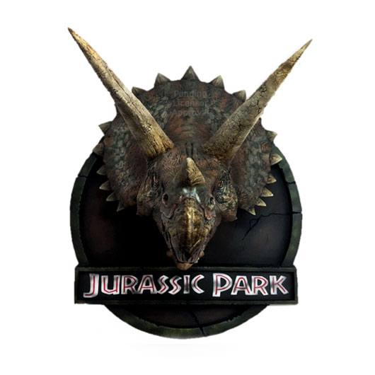 Jurassic Park Bust 1/5 Triceratops 48 cm
