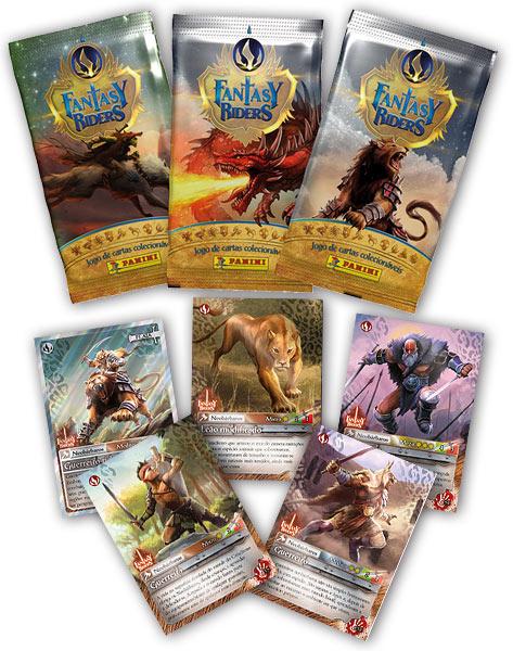 Fantasy Riders Mega Pack (Arquivador+Tabuleiro+4 Boosters) ( Em Português)