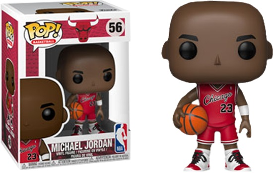 POP NBA: Bulls - Michael Jordan (Rookie Uniform) Vinyl Figure 10 cm