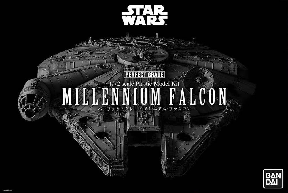 Star Wars Episode IV Perfect Grade Plastic Model Kit 1/72 Millennium Falcon
