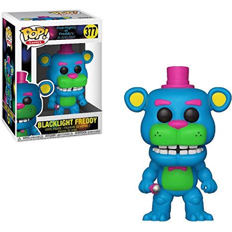 Pop! Games: FNAF - Black Light Freddy Exclusive Edition 10 cm