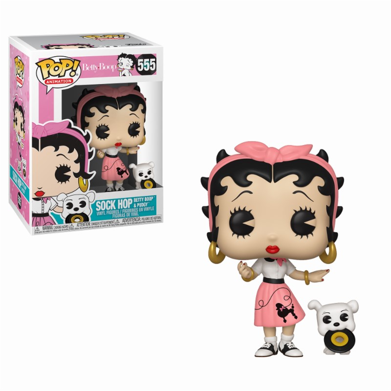 Pop! Cartoons: Betty Boob - Sock Hop Vinyl Figure 10 cm