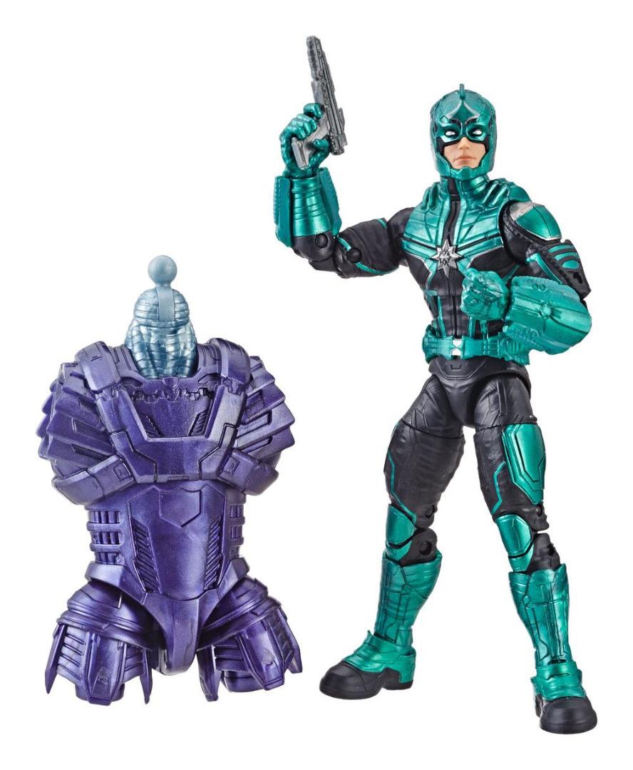 Action Figure Marvel Legends Séries Captain Marvel - Yon-Rogg 15 cm