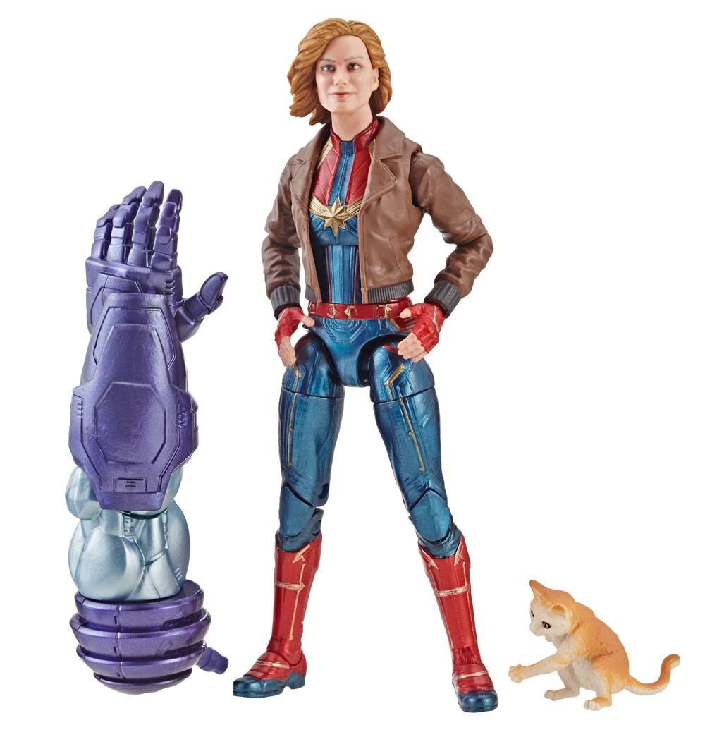Action Figure Marvel Legends Séries Captain Marvel - Captain Marvel 15 cm