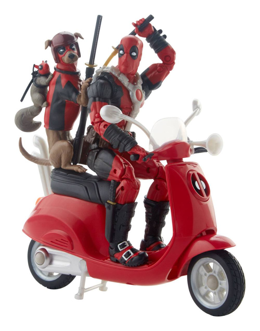 Marvel Legends Series Deadpool with Scooter Ultimate Action Figures 15 cm