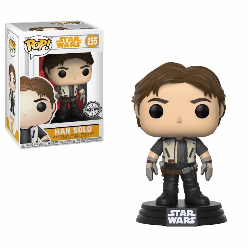 Pop! Star Wars: Solo - Han Solo Exclusive Edition Vinyl Figure 10 cm