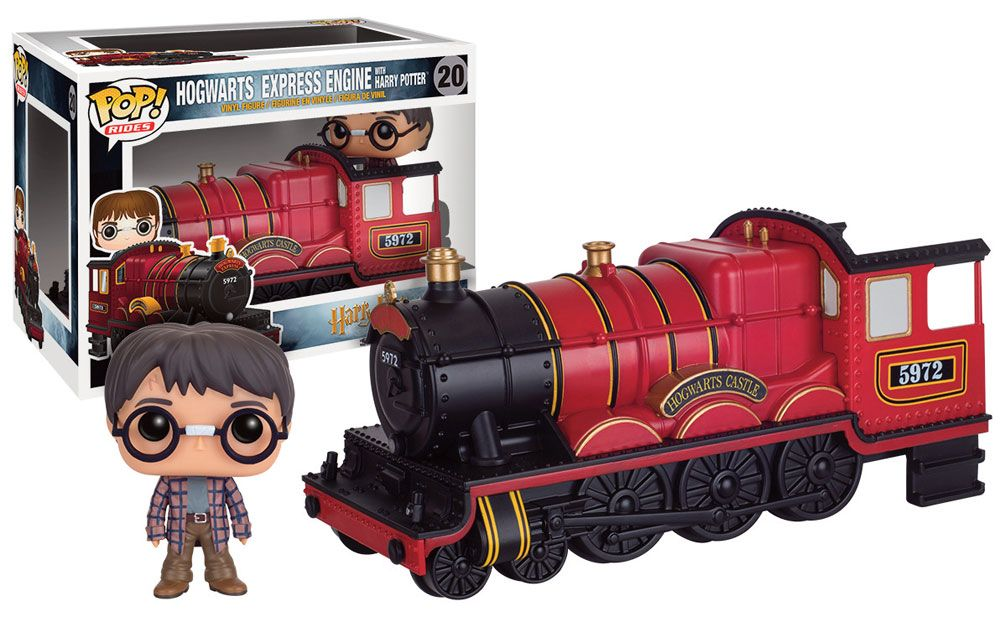 Harry Potter POP! Rides Vinyl Vehicle with Figure Hogwarts Express Engine