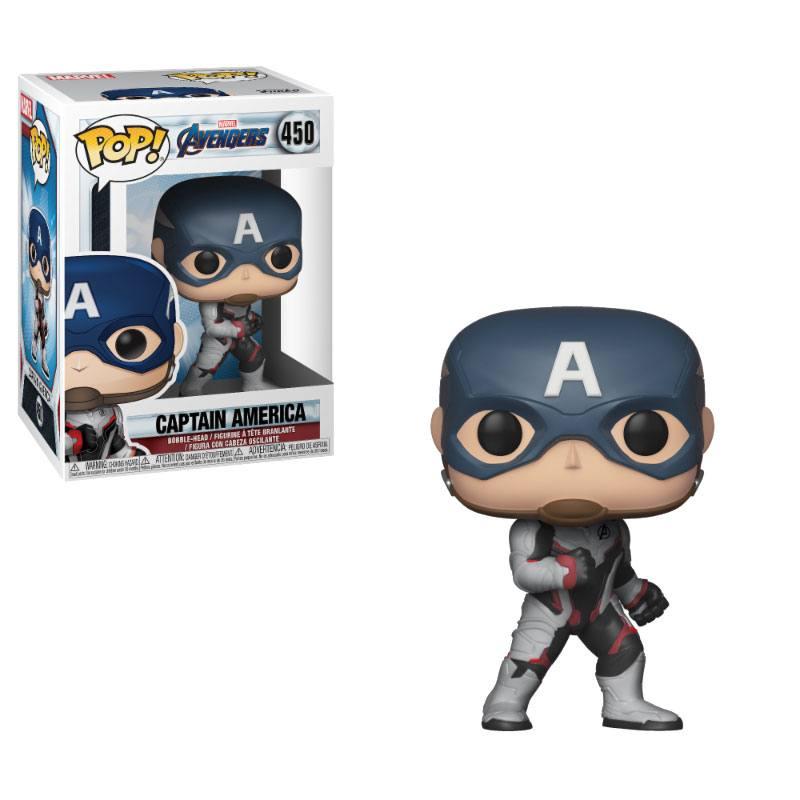 Avengers Endgame POP! Movies Vinyl Figure Captain America 10 cm