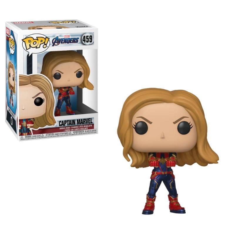 Avengers Endgame POP! Movies Vinyl Figure Captain Marvel 10 cm