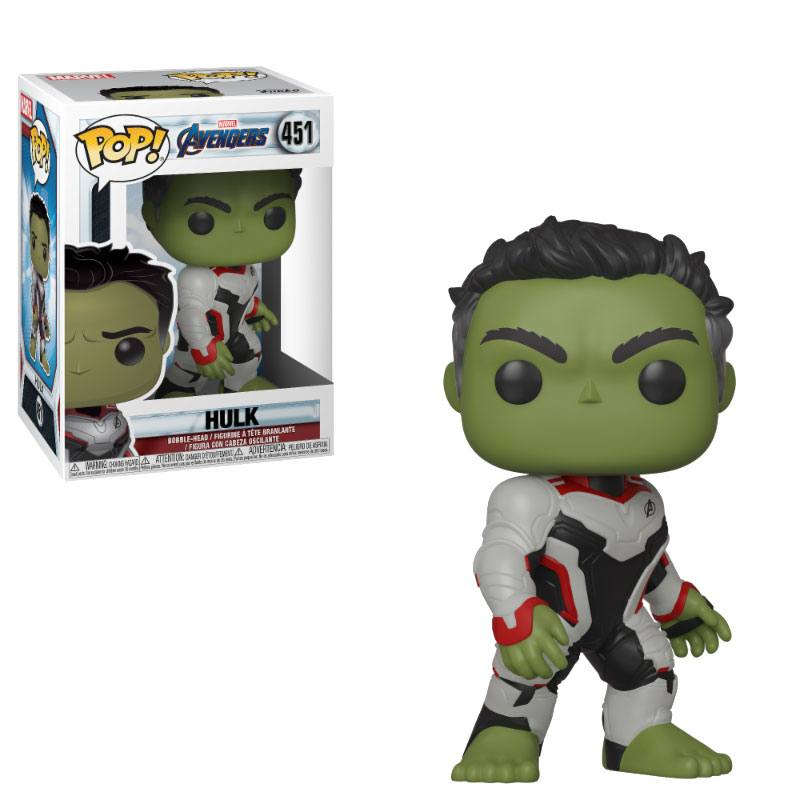 Avengers Endgame POP! Movies Vinyl Figure Hulk 10 cm