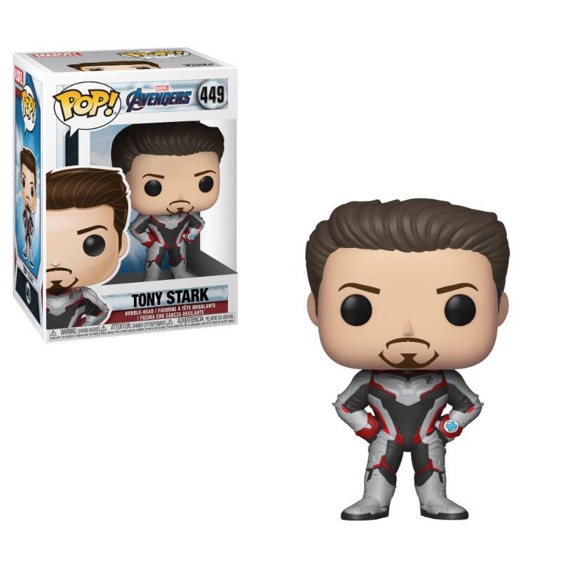 Avengers Endgame POP! Movies Vinyl Figure Tony Stark 10 cm