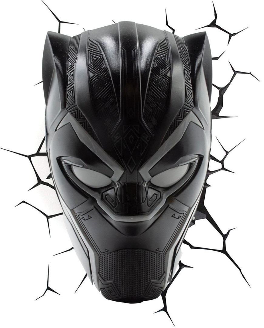 Marvel 3D LED Light Black Panther
