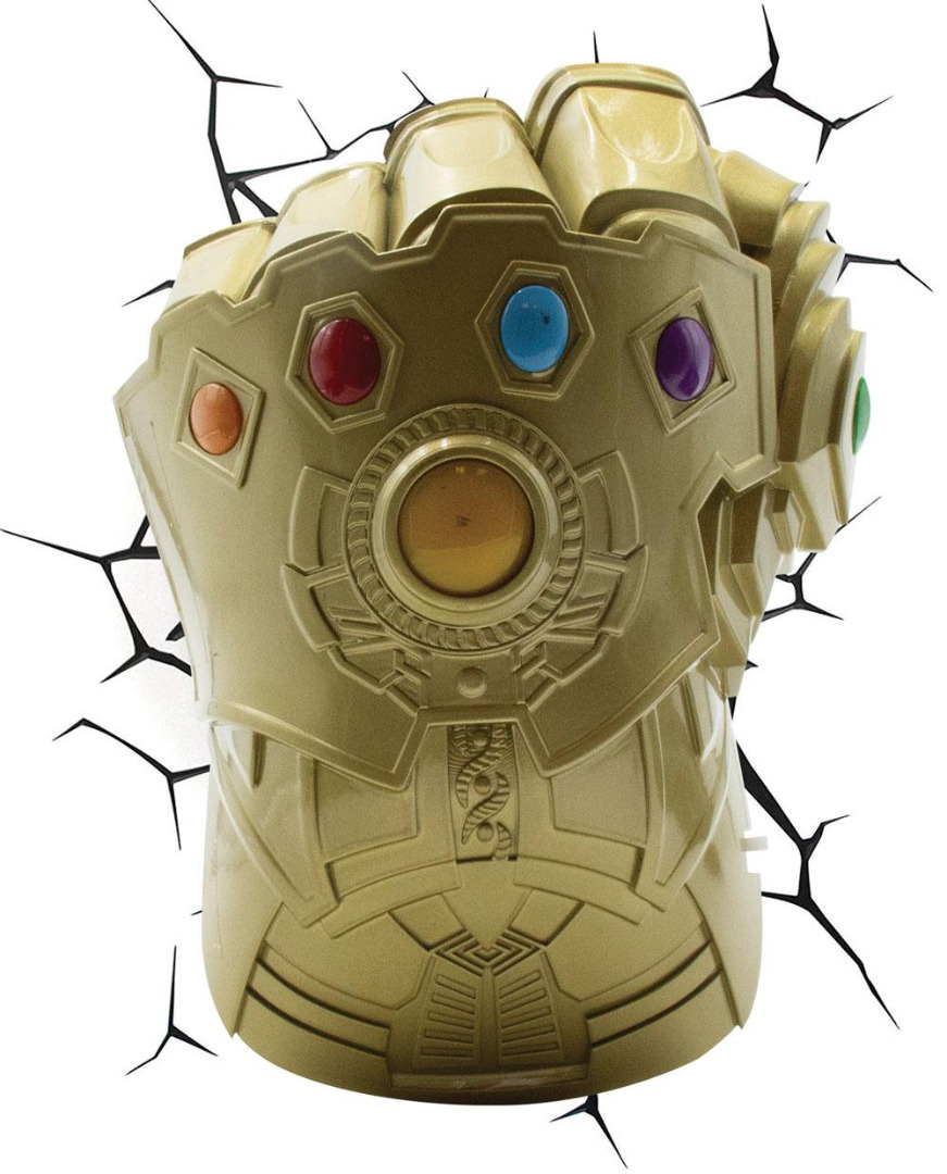 Marvel 3D LED Light Thanos Infinity Gauntlet