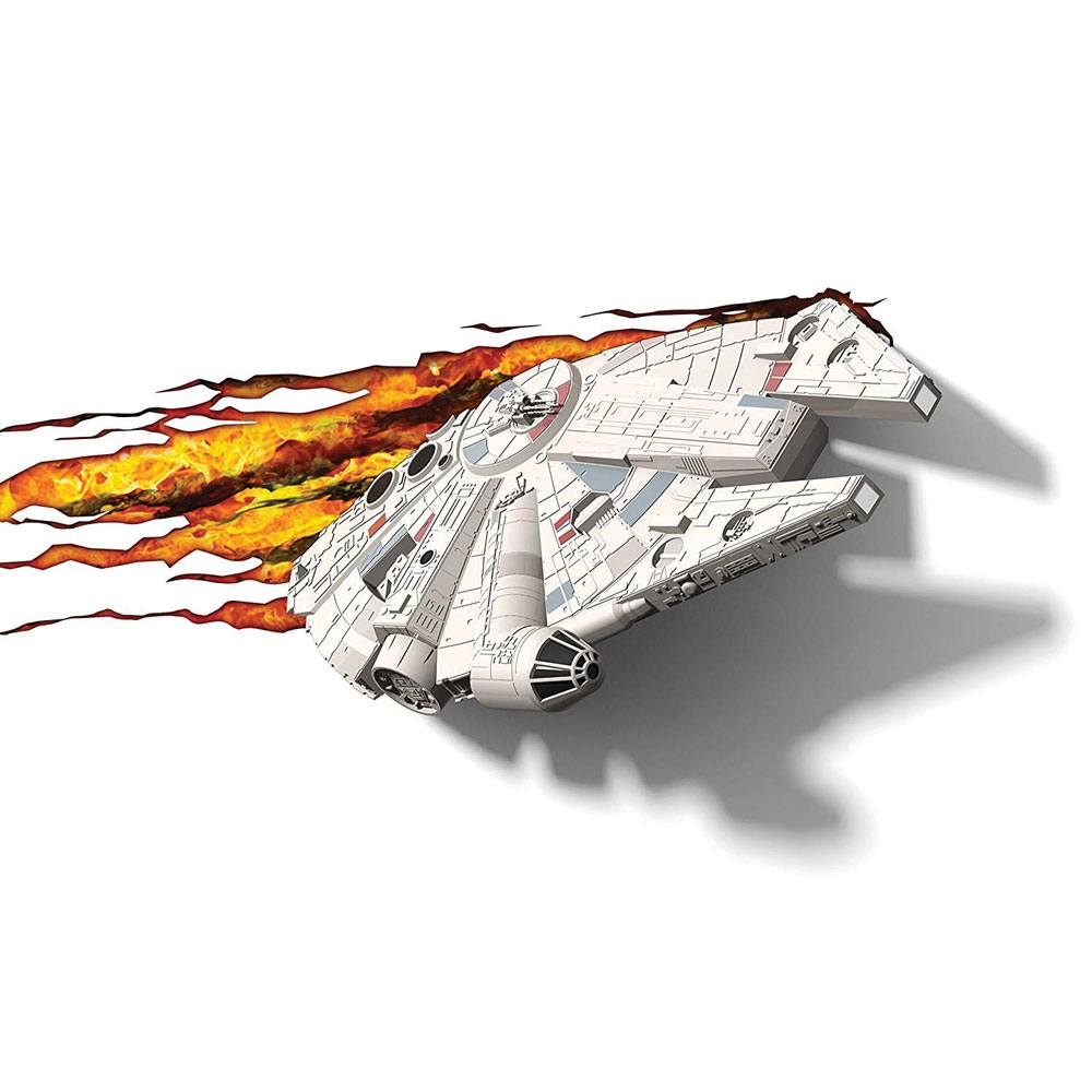 Star Wars 3D LED Light Millennium Falcon