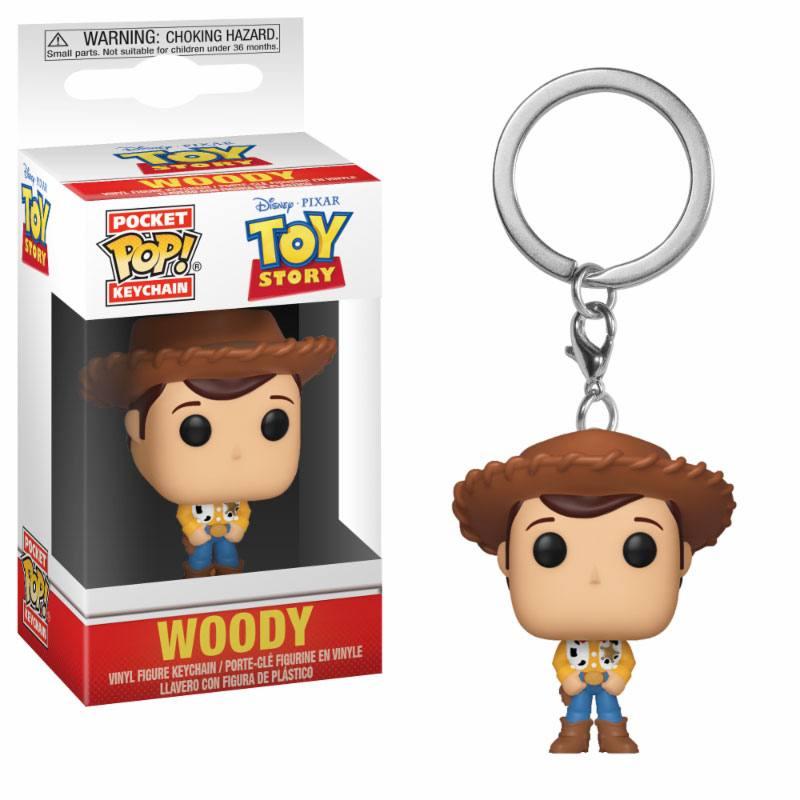Toy Story Pocket POP! Vinyl Keychain Woody 4 cm