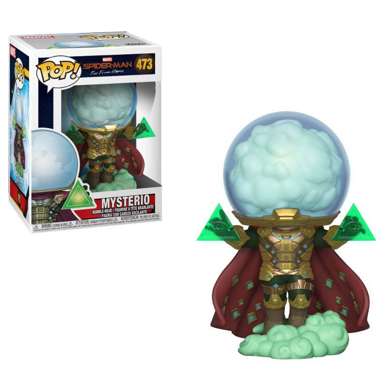 Spider-Man: Far From Home POP! Movies Vinyl Figure Mysterio 10 cm