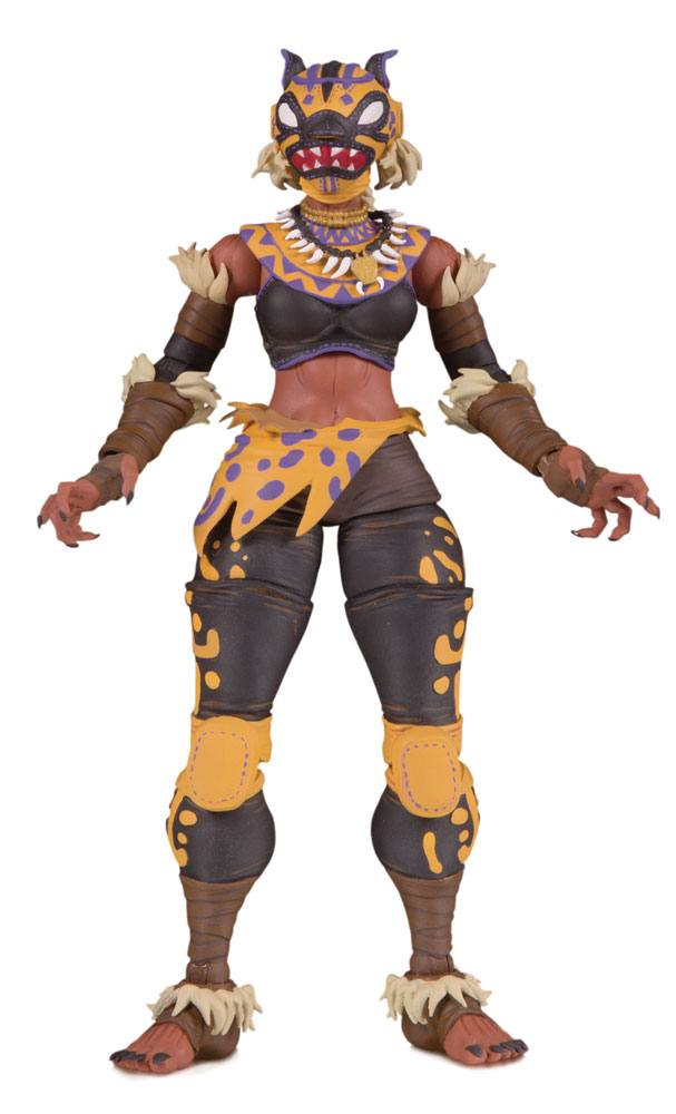 DC ¡Lucha Explosiva! Action Figure Cheetah 18 cm