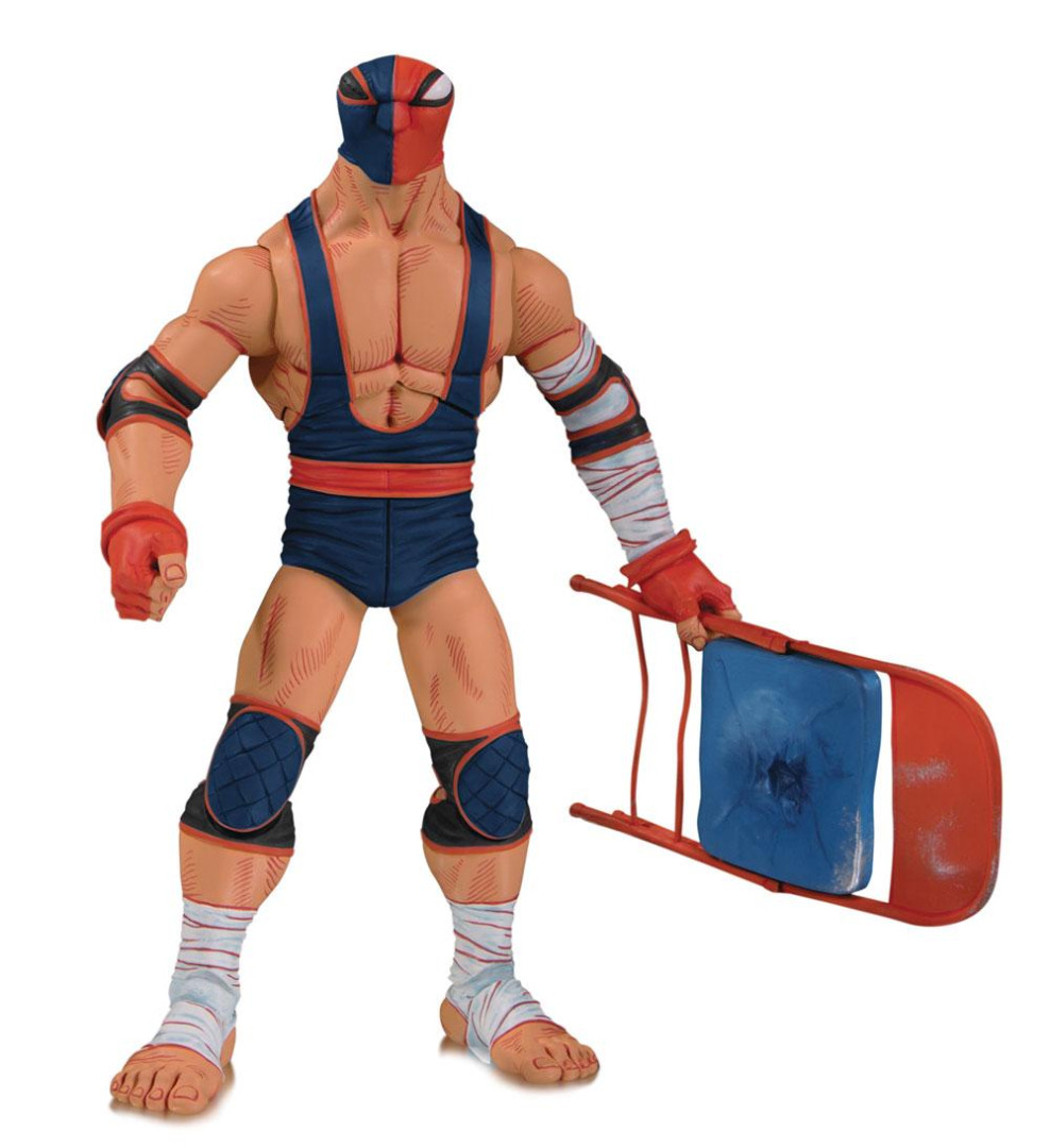 DC ¡Lucha Explosiva! Action Figure Deathstroke 18 cm