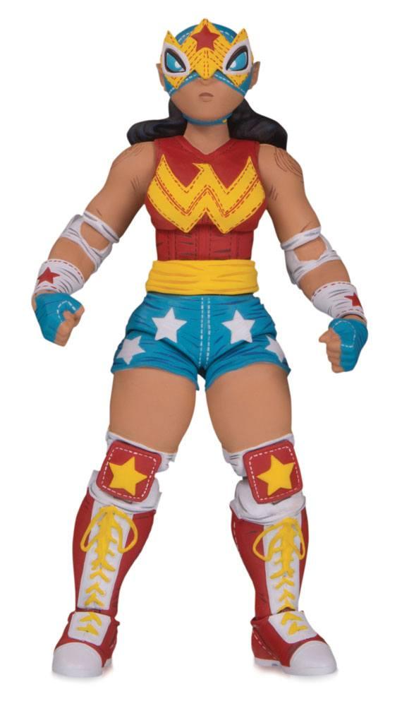 DC ¡Lucha Explosiva! Action Figure Wonder Woman 18 cm