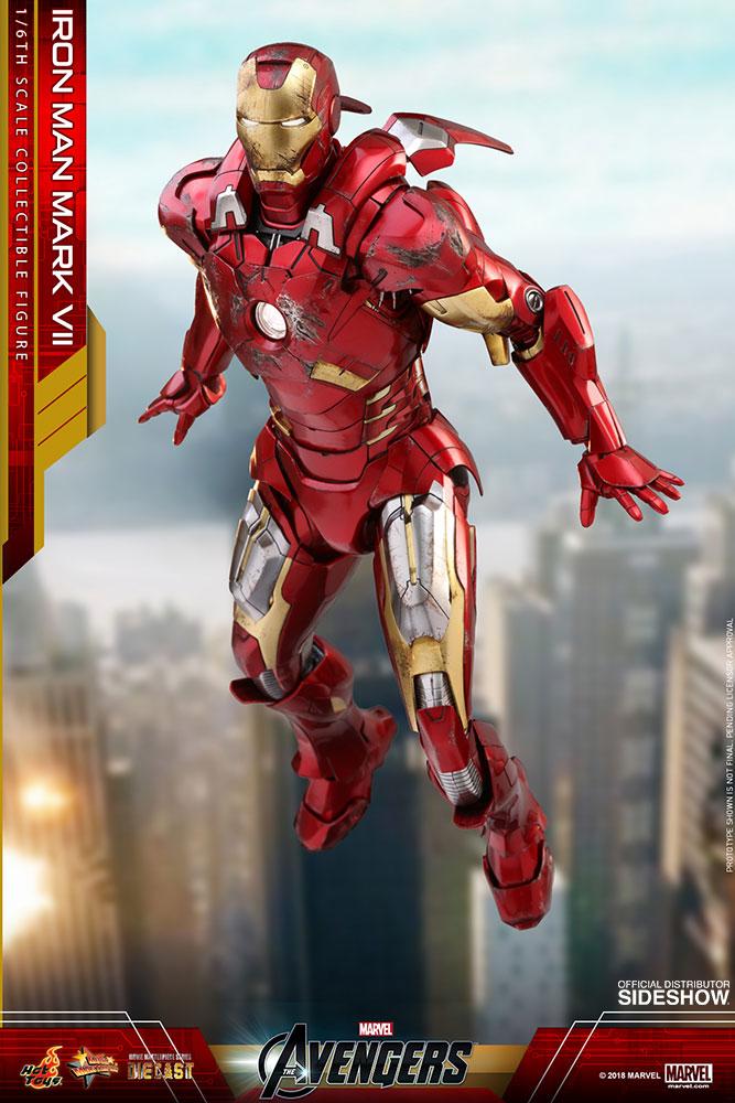 Marvel: The Avengers - Iron Man Mark VII Die-Cast 1:6 Scale Figure