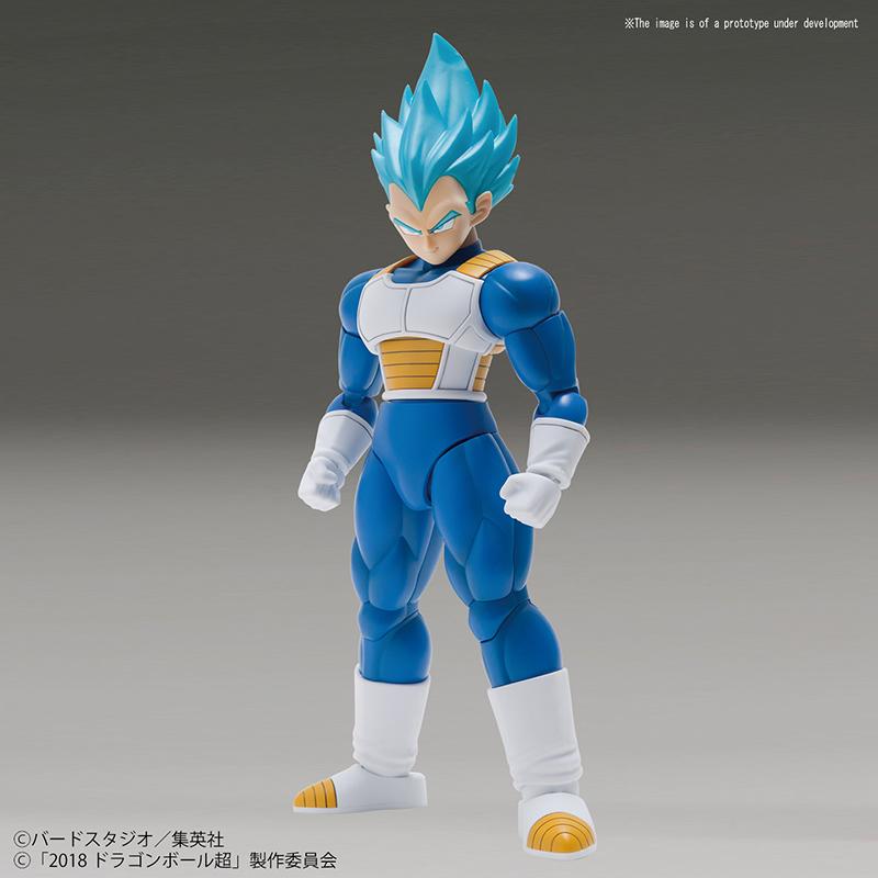 Dragon Ball Super: SSG Super Saiyan Vegeta Model Kit