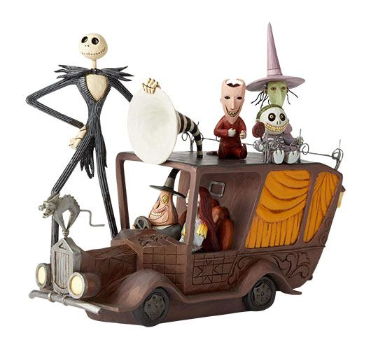 Disney Showcase Collection Statue Mayor Car (Nightmare Before Christmas)