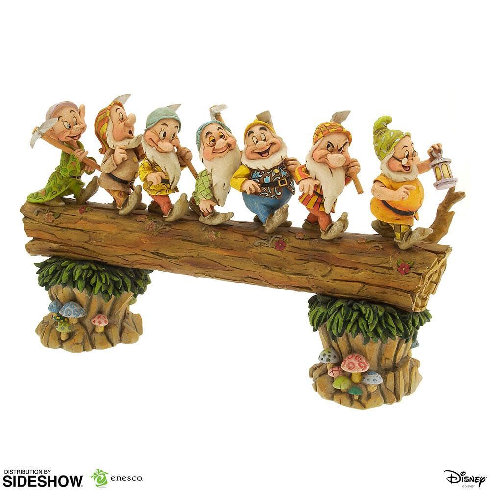 Disney Showcase Collection Statue Seven Dwarfs Masterpiece Snow White 30 cm