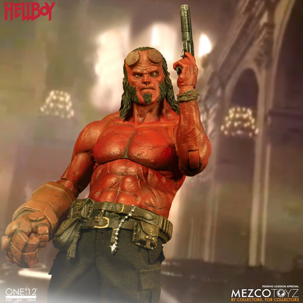 Hellboy (2019) Action Figure 1/12 Hellboy 17 cm