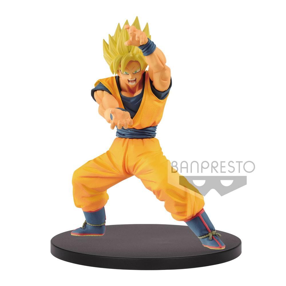 Dragonball Super Chosenshiretsuden PVC Statue Super Saiyan Goku 16 cm