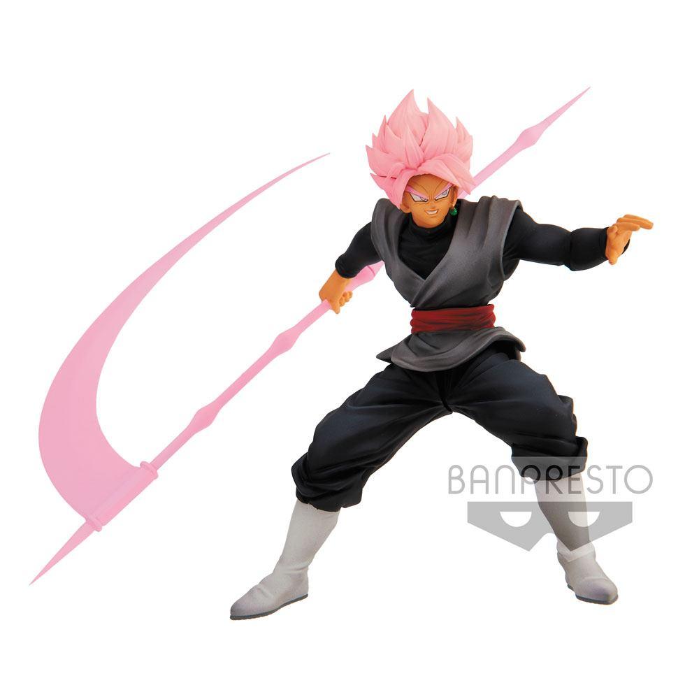 Dragonball Super BWFC PVC Statue Super Saiyan Rose Goku Black Ver. A 14 cm