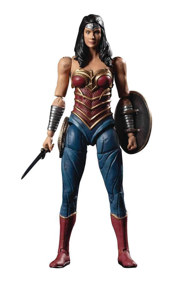 Injustice 2 Action Figure 1/18 Wonder Woman Previews Exclusive 10 cm