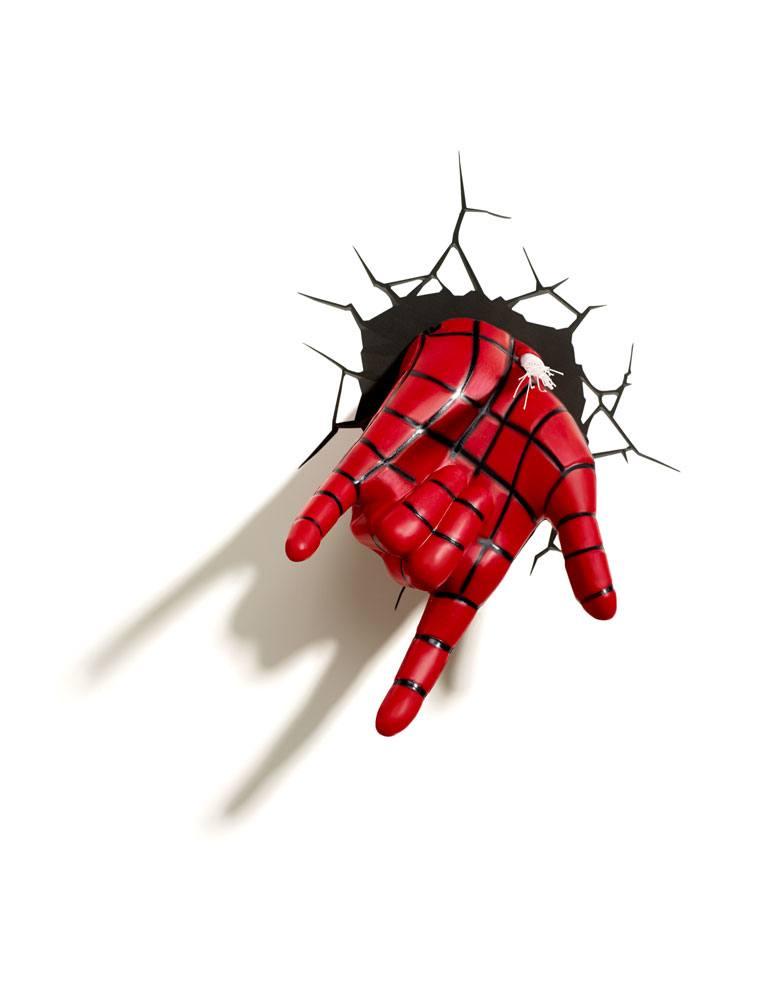 Ultimate Spider-Man 3D LED Light Spider-Man Hand
