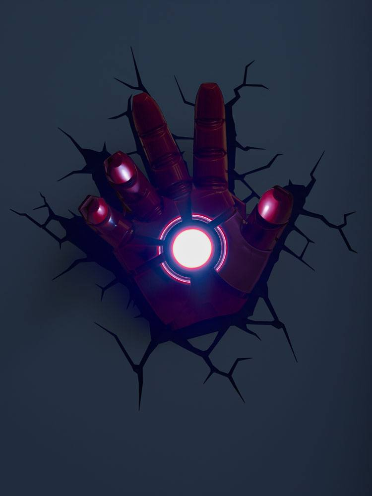 Avengers 3D LED Light Iron Man Hand