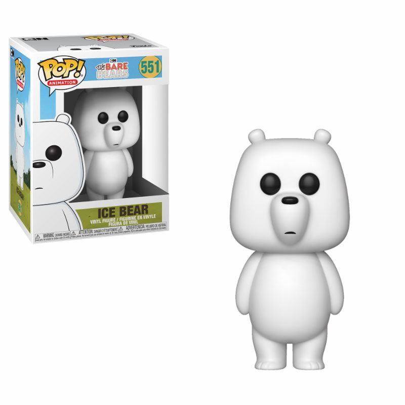 We Bare Bears POP! Animation Vinyl Figure Ice Bear 10 cm