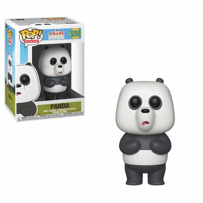 We Bare Bears POP! Animation Vinyl Figure Panda 10 cm