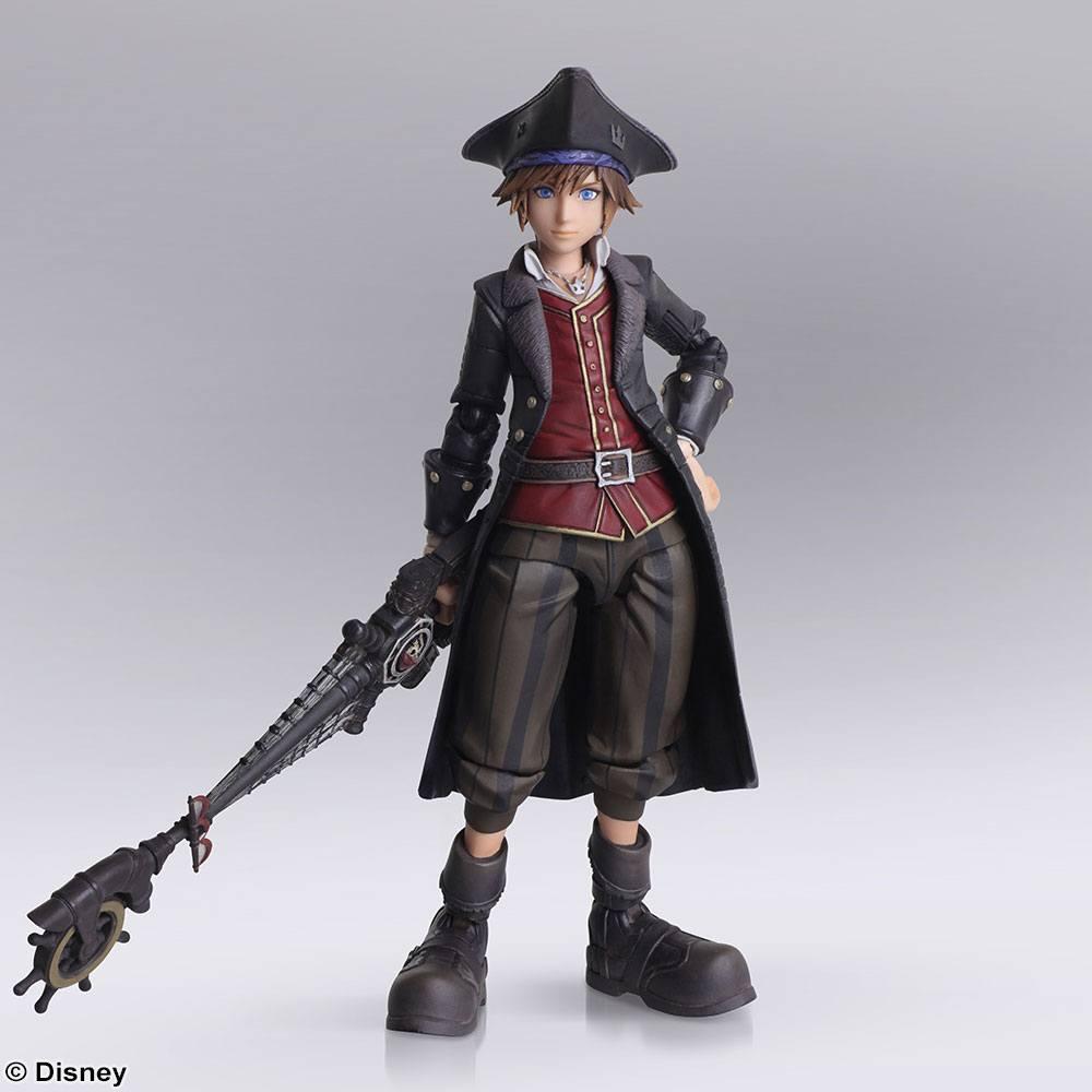 Kingdom Hearts III Bring Arts Action Figure Sora Pirates of the Caribbean
