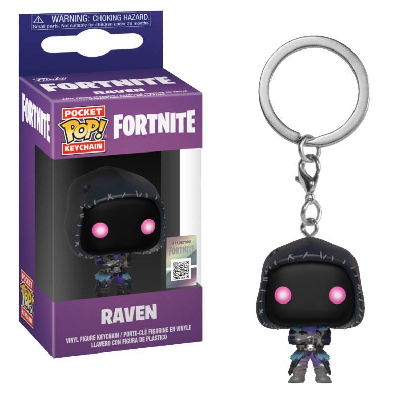 Fortnite Pocket POP! Vinyl Keychain Raven 4 cm