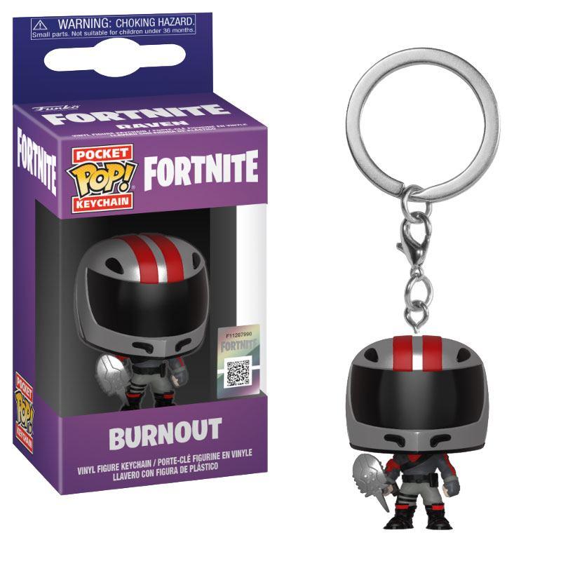 Fortnite Pocket POP! Vinyl Keychain Burnout 4 cm