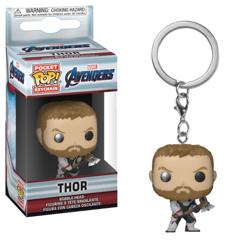 Avengers Endgame Pocket POP! Vinyl Keychain Thor 4 cm