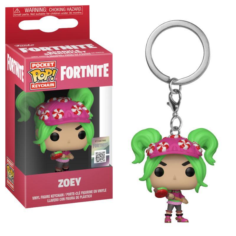 Fortnite Pocket POP! Vinyl Keychain Zoey 4 cm