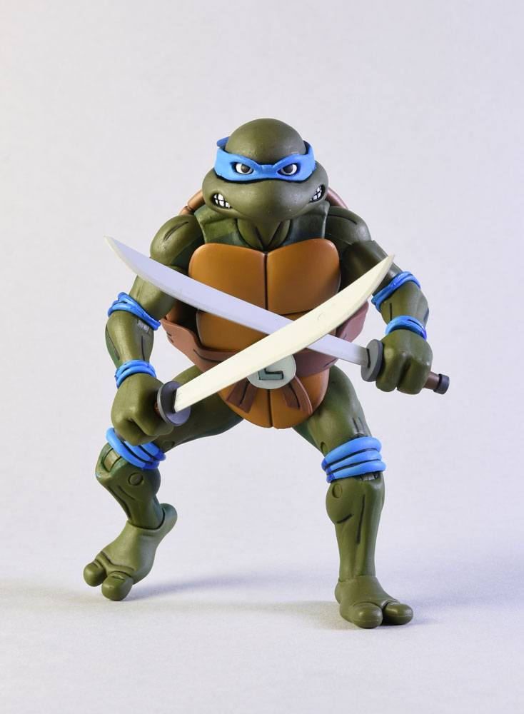 Teenage Mutant Ninja Turtles Action Figure 2Pack Leonardo vs Shredder 18 cm