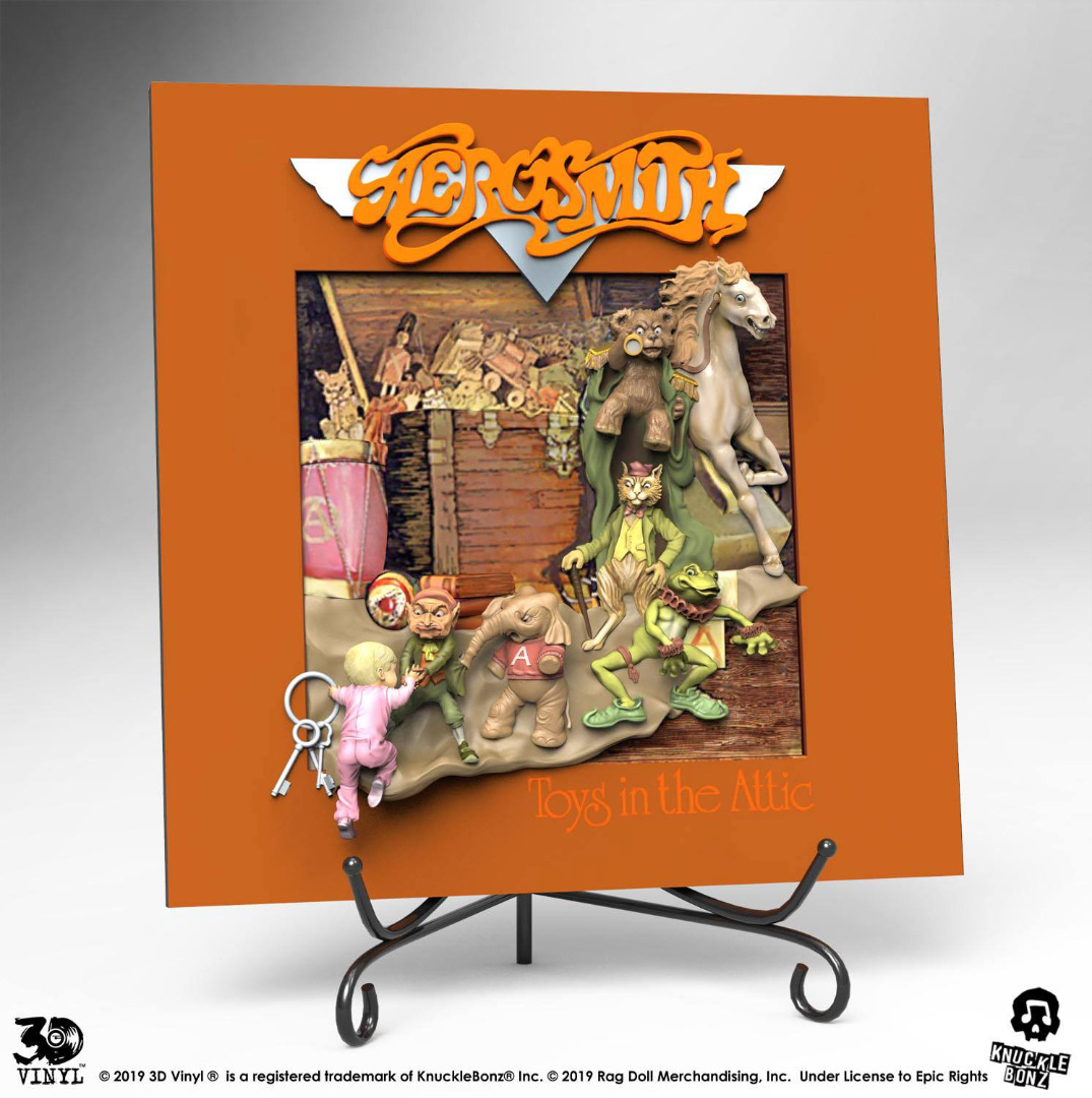 Aerosmith 3D Vinyl Statue Toys in the Attic 30 cm