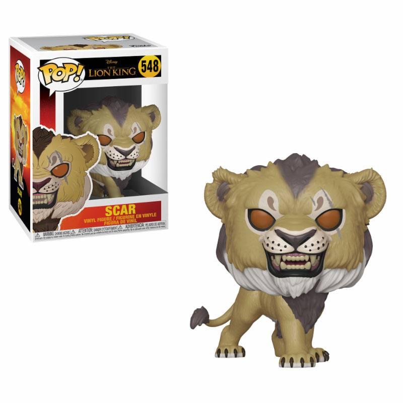 The Lion King (2019) POP! Disney Vinyl Figure Scar 10 cm